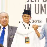 Mahathir di Malaysia Prabowo di Indonesia Untuk Menyelamatkan Malaysia dan Indonesia