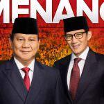 Apapun Hasil Perhitungan KPU, Persepsi Publik Pemenang Pemilu Presiden 2019 Prabowo-Sandi