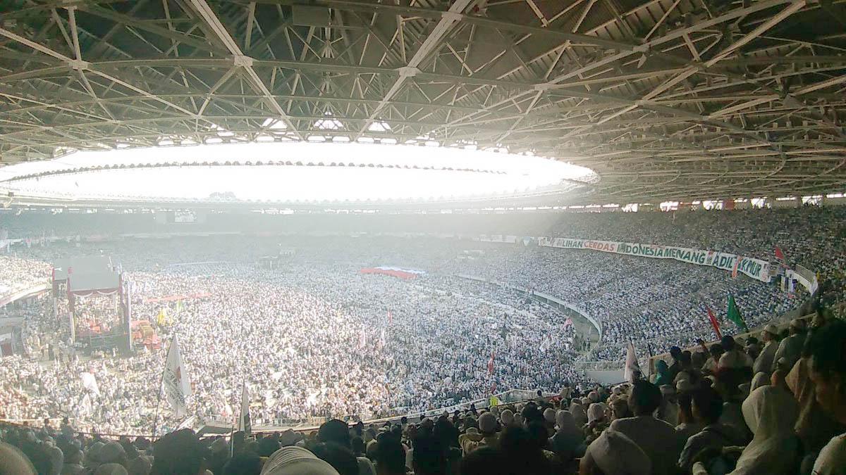 Jutaan Massa Hadiri Kampanye Akbar Prabowo-Sandi Untuk Mewujudkan Perubahan-Ganti Presiden