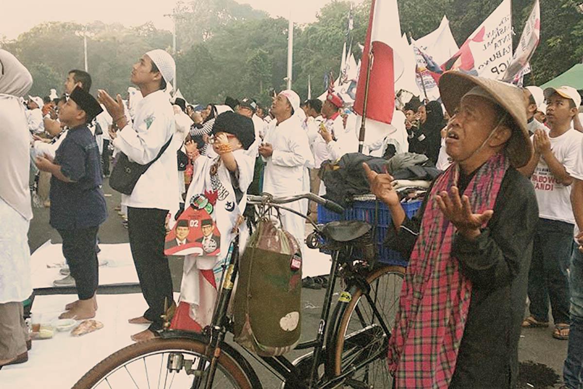 Antusiasme Rakyat Hadiri Kampanye Prabowo-Sandi Luar Biasa Walaupun Banyak Hambatan dan Rintangan