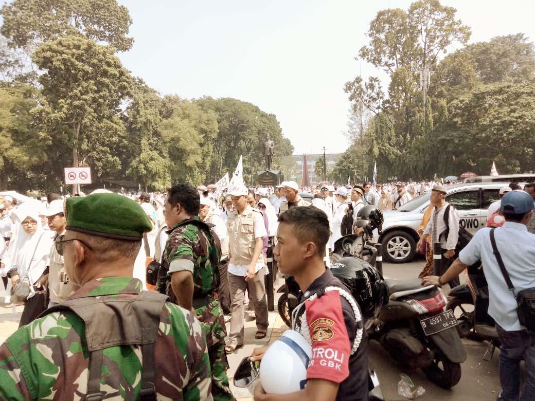 Jutaan Massa Hadiri Kampanye Akbar Prabowo-Sandi Untuk Mewujudkan Perubahan Ganti Presiden