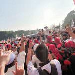 DKI Jakarta - Pusat Kemenangan Prabowo Sandi Pemilu 2019