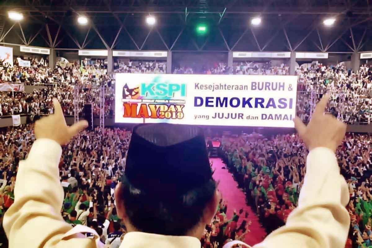 Prabowo-Sandi Bersama Ulama dan Buruh Melawan Kecurangan Pemilu