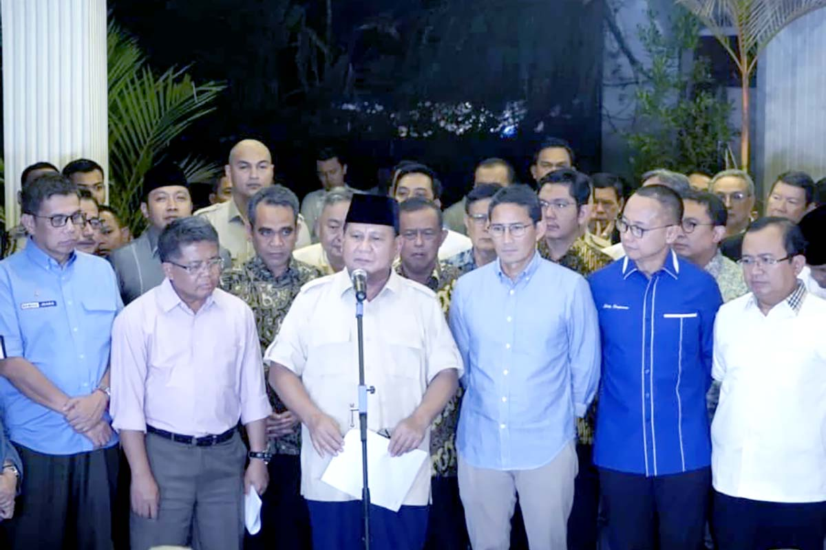Prabowo-Sandi Hormati Putusan MK, Jokowi Ucapkan Terima Kasih