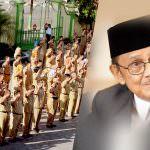 Jasa BJ Habibie Dalam Netralitas PNS Agar Pemiludan Pilkada Jujur dan Adil