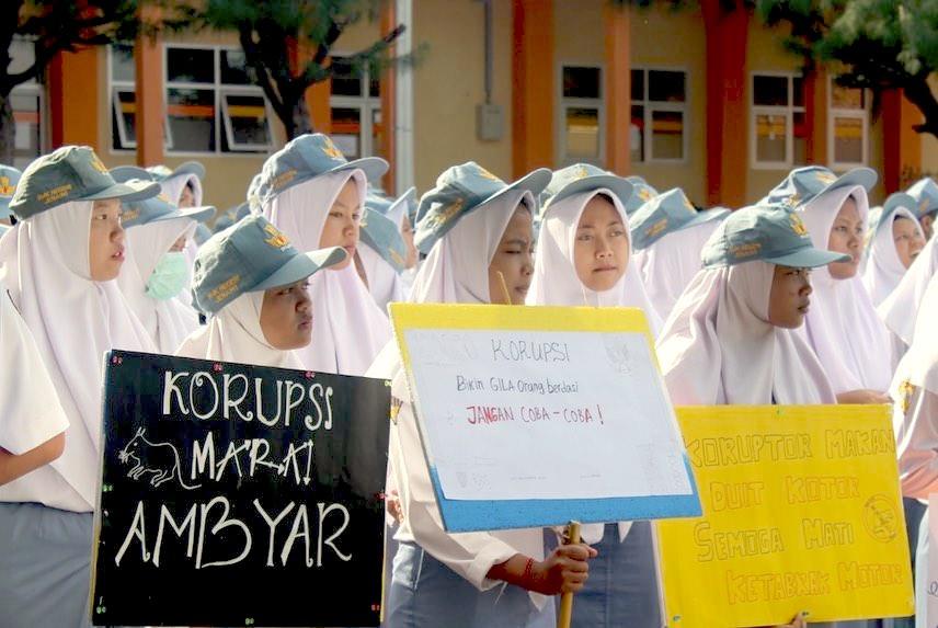 Peringatan Hari Anti Korupsi Sedunia di Indonesia Tidak Semarak