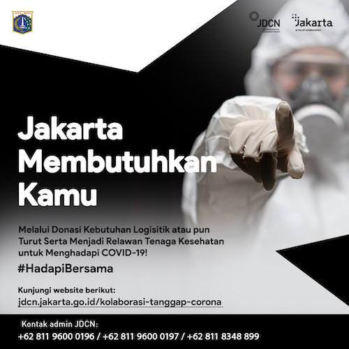 Jakarta Membutuhkan Kamu