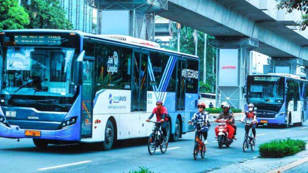 Moda Transportasi Massal Modern Bebas Emisi Dimulai Dari Transjakarta
